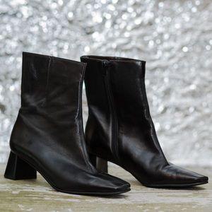 Etienne Aigner Passaic Leather ankle boots